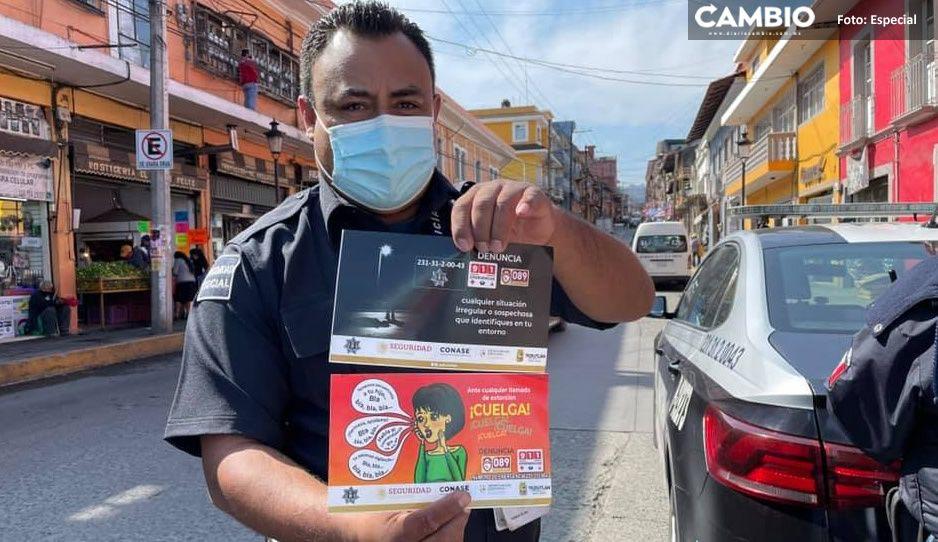 SSP de Teziutlán exhorta a denunciar a agentes de vialidad corruptos