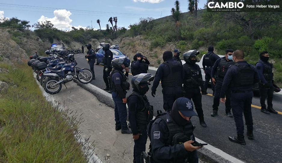 Además de una menor de 9 años, policías de Tehuacán también agredieron a 20 reporteros que cubrían desalojo