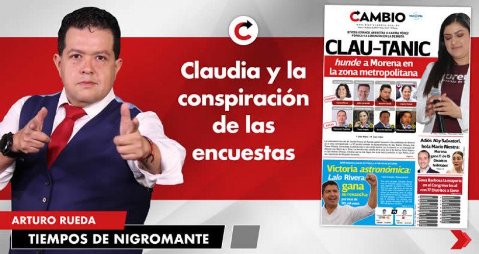 Claudia y la conspiración de las encuestas