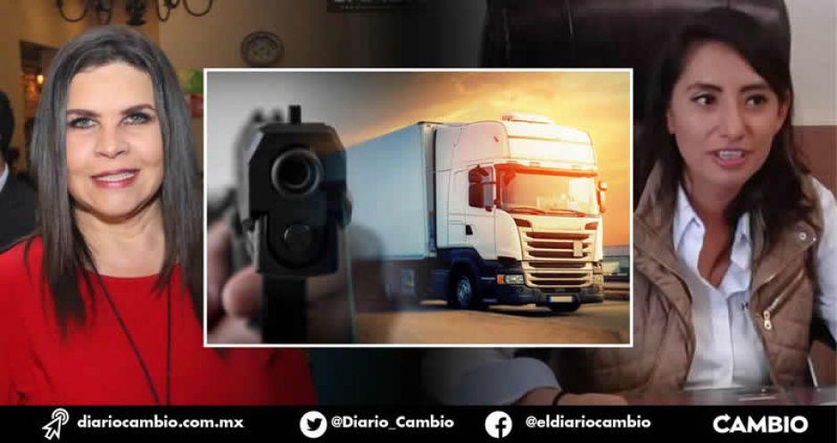 Norma Layón y Angélica Alvarado no pueden contra el robo a transportistas