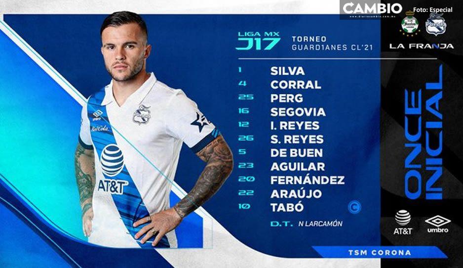 Así jugará el Club Puebla ante Santos; buscará el pase directo a la Liguilla