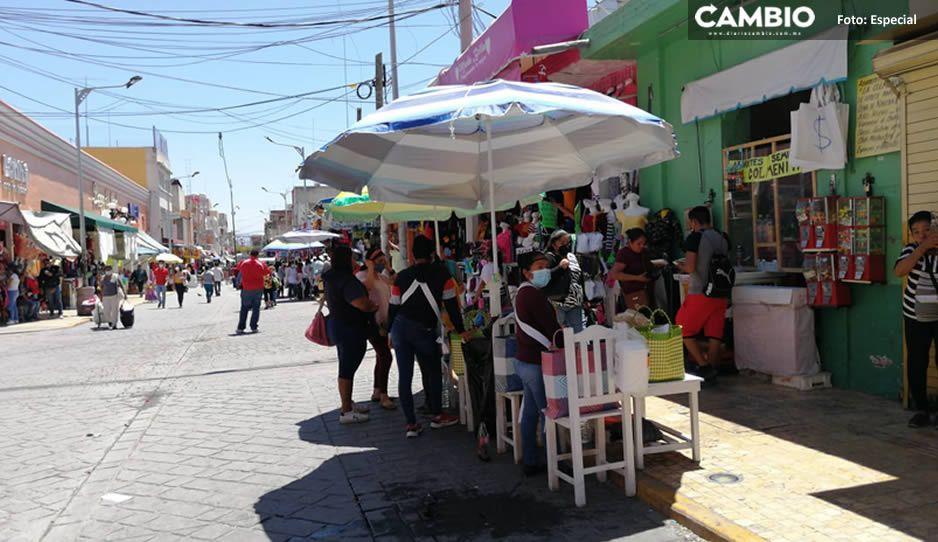 Comerciantes ganan amparo vs decreto estatal; venderán en calles de Tehuacán