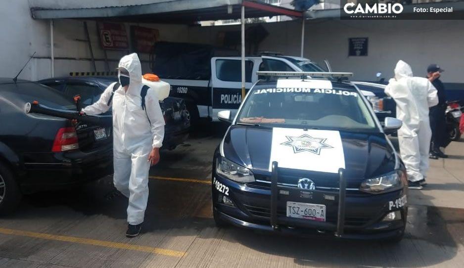 Teziutlán confirma que no existen casos positivos de Covid 19 entre elementos de Seguridad Pública