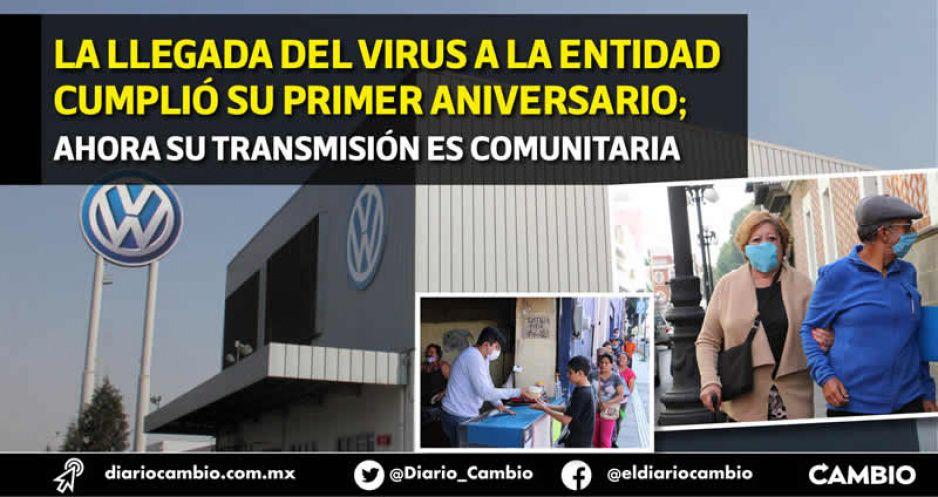 Instructor de VW, viajeros a Europa y EU, primeros casos COVID en Puebla