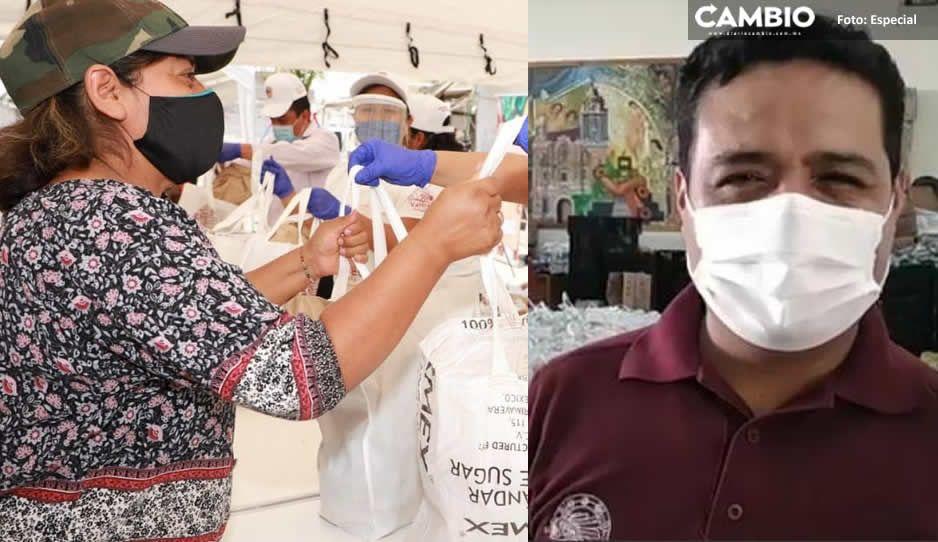 Ayuntamiento de San Andrés beneficia a más de 100 mil familias con el programa Valores a Tu Mesa