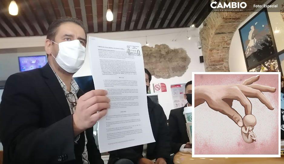 Grupo PROVIDA denuncia en Fiscalía a la red pro aborto BUAP (VIDEO)