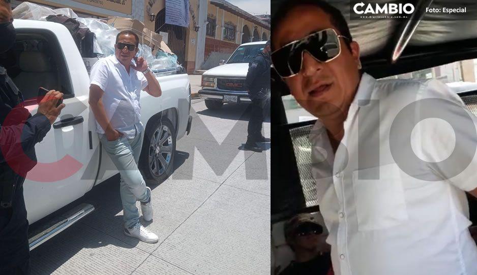 ¡Escándalo! Detienen borracho al edil de San Juan Xiutetelco sobre la Teziutlán – Perote