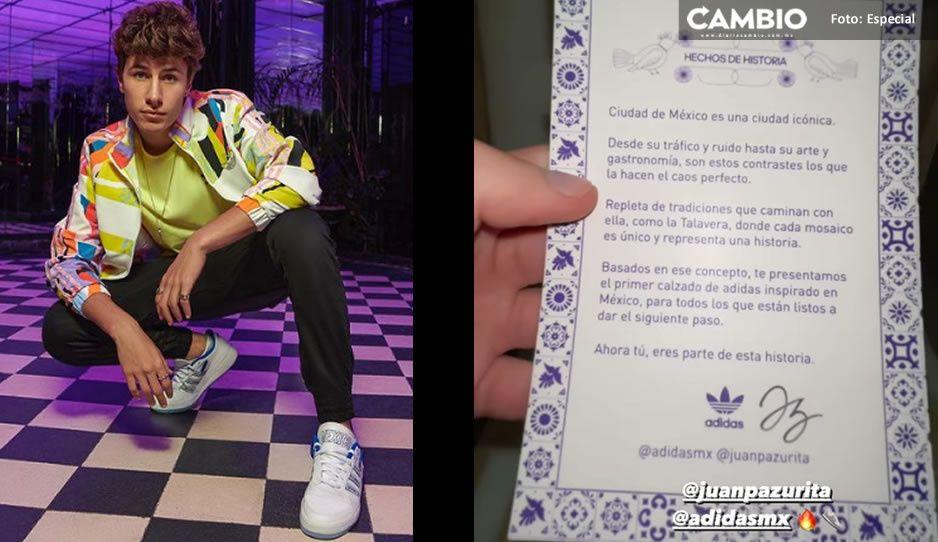 ¡Increíble! JuanPa Zurita promueve Adidas Talavera como inspiración de la CDMX