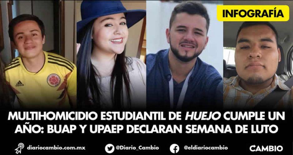 Un año después, sigue sin saberse la causa de los universitarios masacrados en Huejotzingo