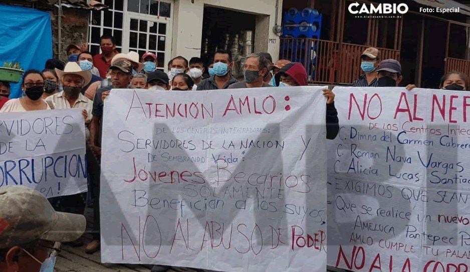 Acusan damnificados de Grace a CEMPA de quedarse con los apoyos federales en Francisco Z Mena