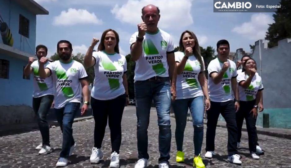 El Capi Ruiz Esparza inicia campaña con SPOT junto a candidatos a diputados del PVEM