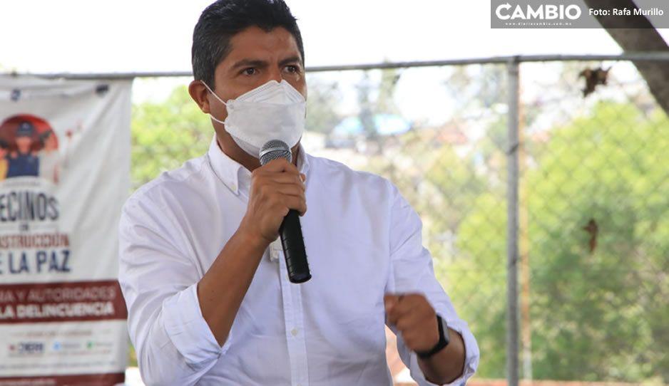 Lalo Rivera asegura centrarse en su campaña y no caer en provocaciones de otros candidatos