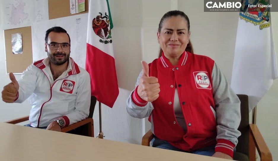Ex priista América Soto buscará la alcaldía de Puebla con el RSP; ya son 9 los candidatos (VIDEO)