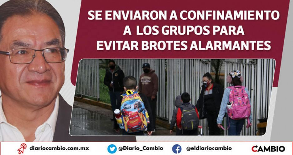 Ninguna escuela pública o privada ha cerrado por contagios: SEP (VIDEO)