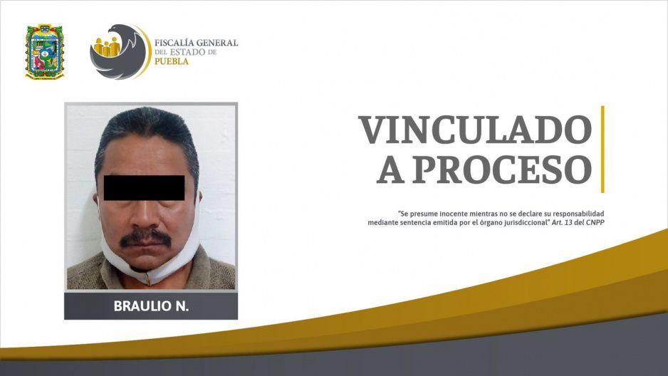 Vinculan a proceso a Braulio por abusar de su ahijada de 12 años