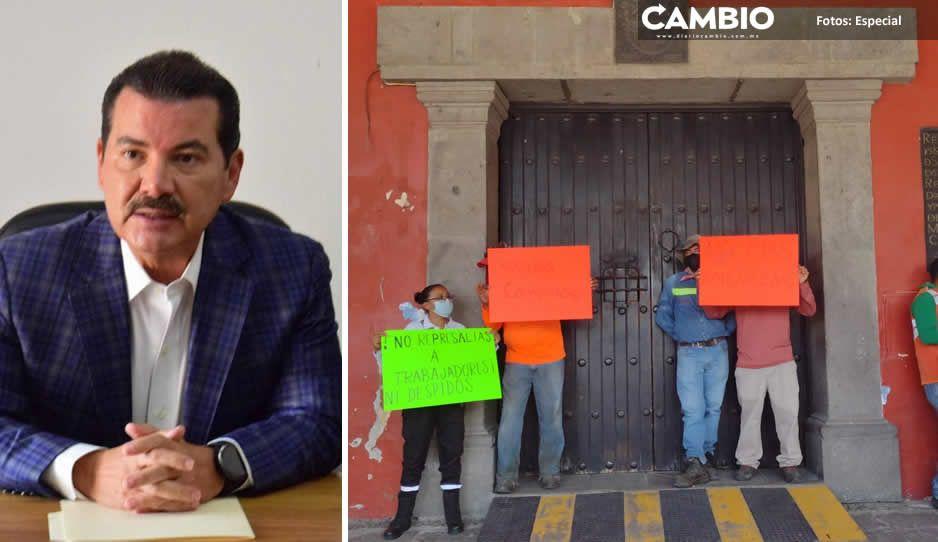 Trabajadores inconformes por recorte salarial recibirán su sueldo íntegro: Luis Alberto Arriaga