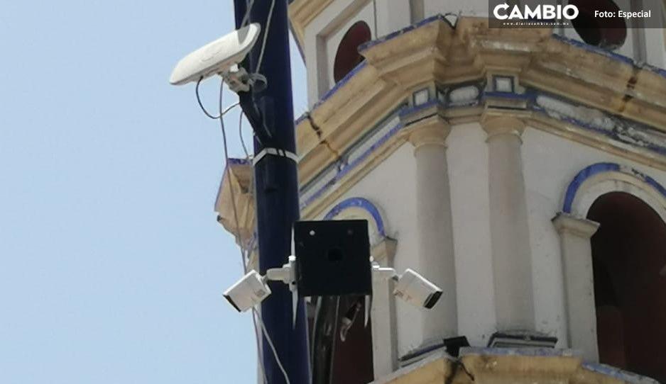 Cerca de 50 cámaras de seguridad en Tehuacán no sirven
