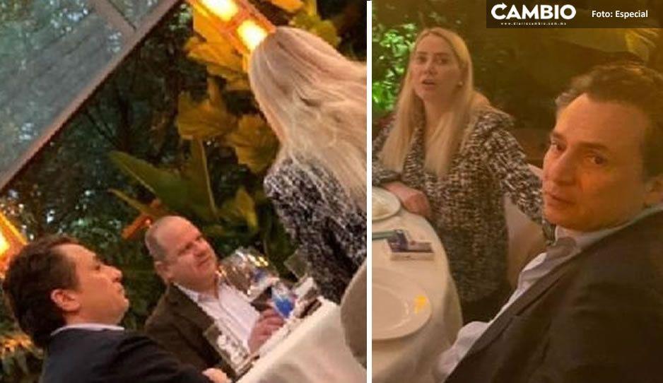 FOTOS: Así captan a Emilio Lozoya en restaurante de lujo pese a estar en arraigo
