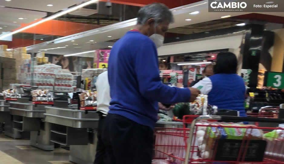 Sólo 277 de los 924 abuelitos cerillitos han regresado a trabajar en Puebla (VIDEO)