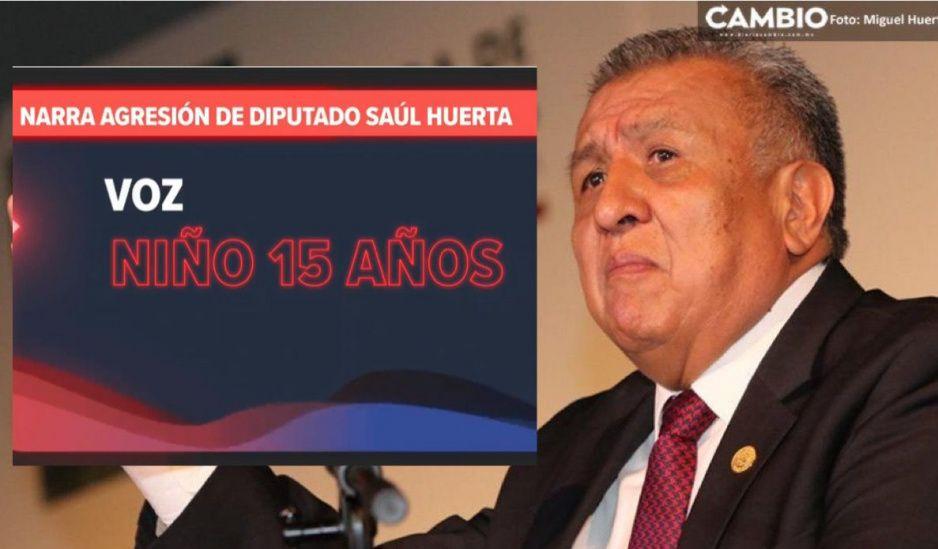 Narra menor el ataque sexual que sufrió a manos de Saúl Huerta (VIDEO)
