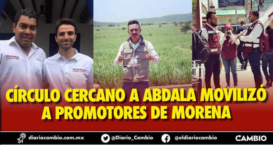 Culpan a César Addi, Gabo y Julio de no pagar y explotar, pese a COVID, a promotores de Morena (FOTOS Y VIDEO)