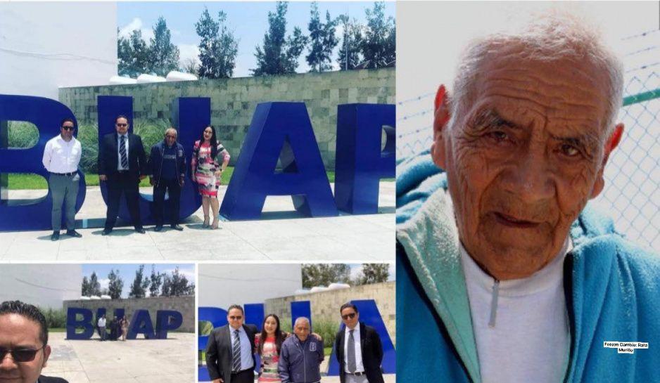 ¡Bravo Don Felipe! A sus 85 años se gradúa de la BUAP como ingeniero industrial (FOTOS)