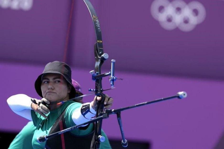 Alejandra Valencia se clasifica a octavos de final en tiro con arco