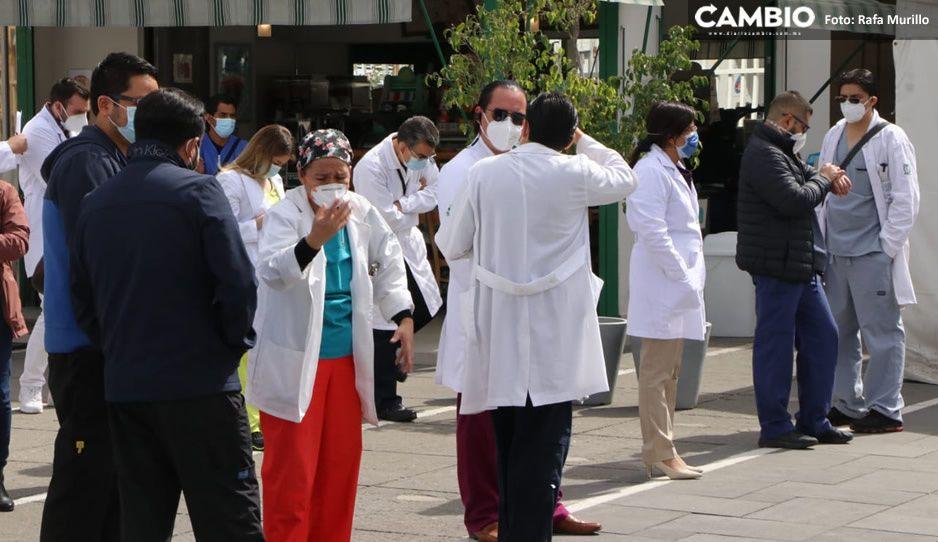 Todavía no se vacunará al personal de segunda línea: Aclara Secretaría de Salud
