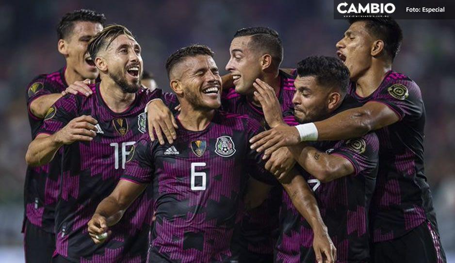 México golea a Honduras y avanza a semifinales de la Copa Oro