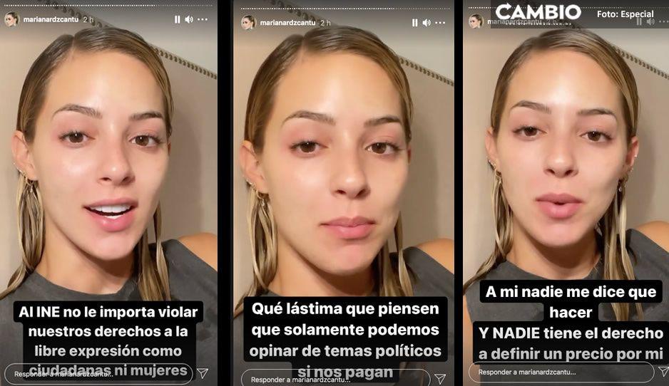 Es violencia política de género; así responde la influencer y esposa de Samuel García al INE tras multota (VIDEO)