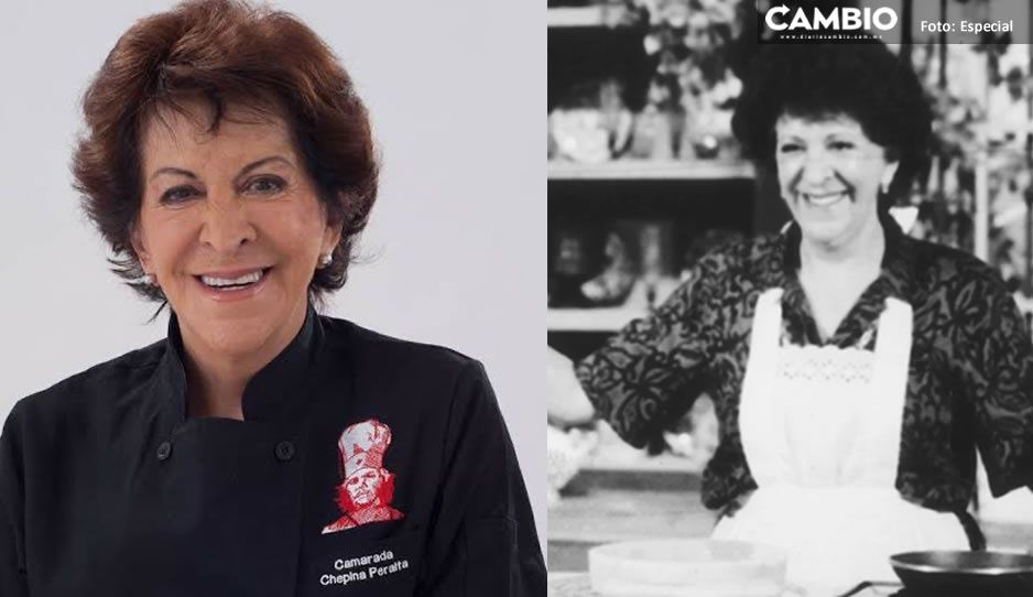 ¡México de luto! Muere Chepina Peralta, pionera de los programas de cocina