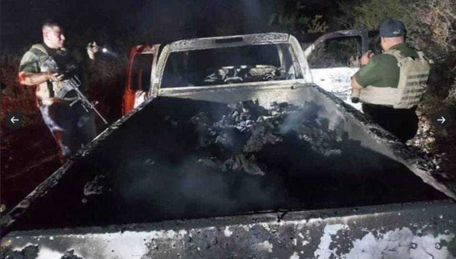 Guatemaltecos reclaman cuerpos calcinados en Tamaulipas