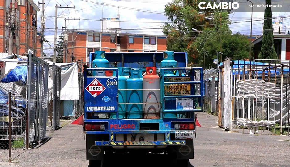 Tanque de gas de 20 kilos será 8 pesos más caro esta semana en Puebla