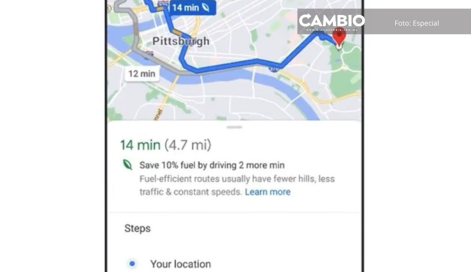 Conoce la nueva función de Google Maps que te permitirá ahorrar gasolina