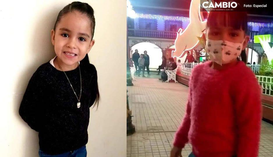 La pequeña Julieta García desapareció en Ayotoxco el Día de Reyes ¡Ayuda a localizarla!