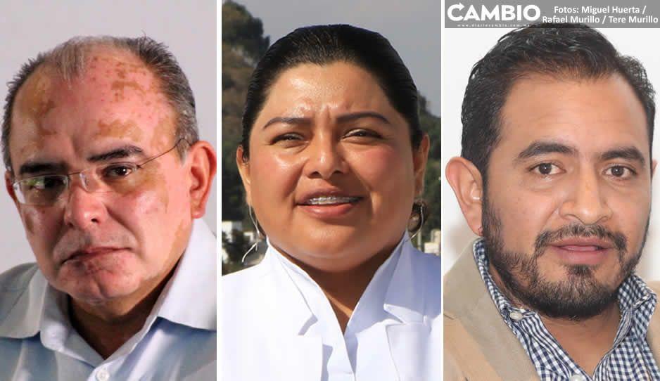 Márquez, Karina Pérez y Uruviel encabezan lista de candidatos que impugnaron multas del INE