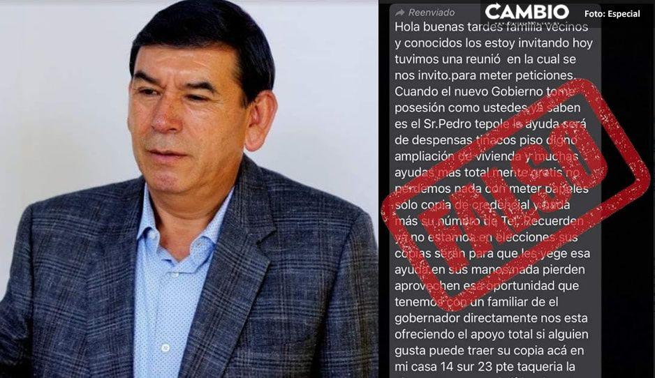Presidente electo de Tehuacán alerta a la población; piden documentos a su nombre para estafar