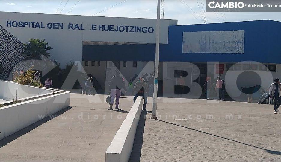 Inicia la vacunación a enfermeras, médicos y personal administrativo del hospital de Huejotzingo
