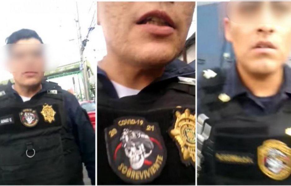 VIDEO: Policías de la CDMX golpean a joven por pedirles que no tiren basura