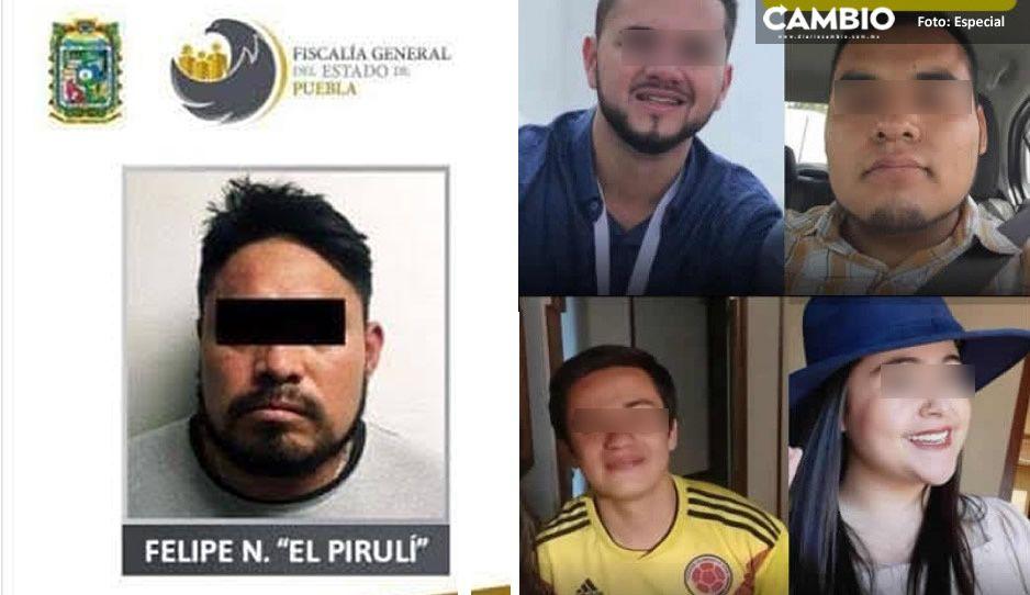 """Identifican a """"El Piruli"""" como el reo fugado de San Miguel; presunto homicida de estudiantes en Huejotzingo"""