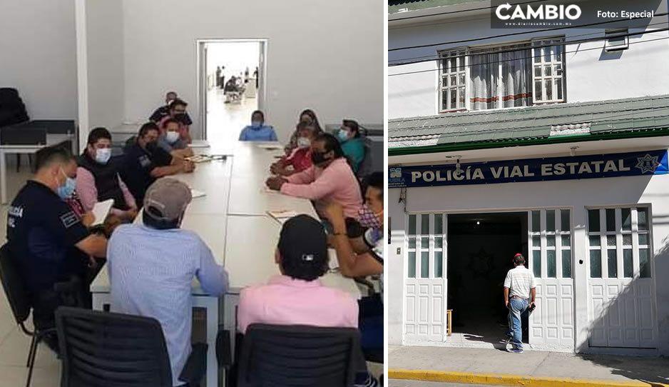Acusan campesinos que transitan en la Coxcatlán-Tlacotepec de Díaz ser extorsionador por policías estatales