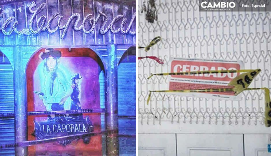 """Clausuran bar clandestino """"La Caporala"""" en Chietla, ejercían la prostitución"""
