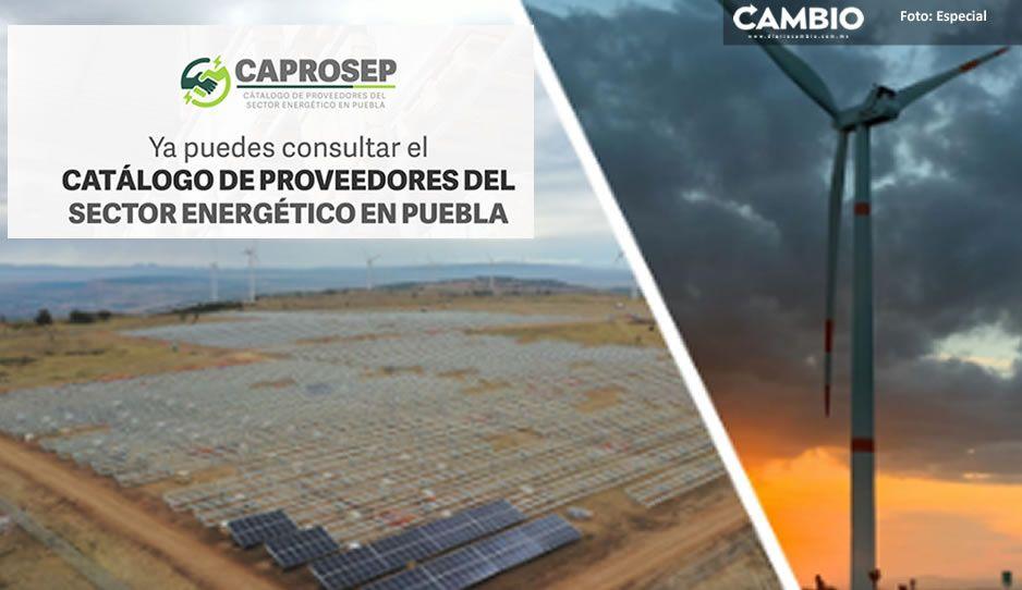 Puebla estrena Catálogo de Proveedores del Sector Energético elaborado por la Agencia de Energía