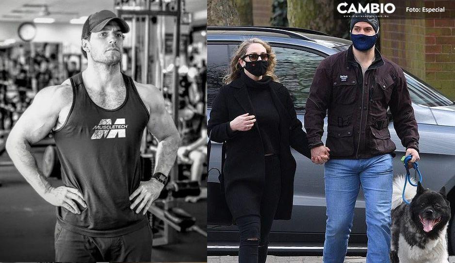 ¡Ya no es soltero! Henry Cavill se pasea con su nueva novia y usuarias reaccionan