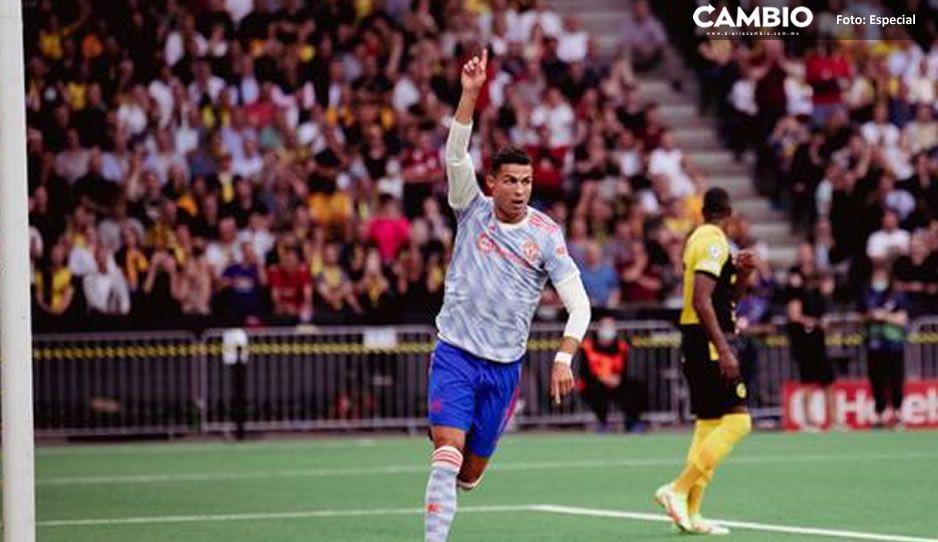 ¡Va con todo! Cristiano Ronaldo pone su marca en su regreso a la Champions (VIDEO)