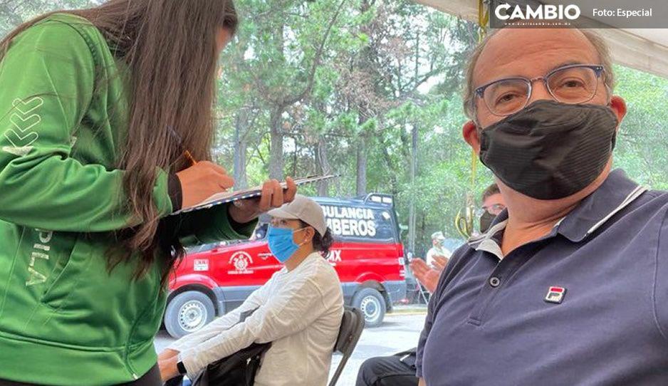 Felipe Calderón recibe la segunda dosis AntiCovid y le llueven duras críticas en redes