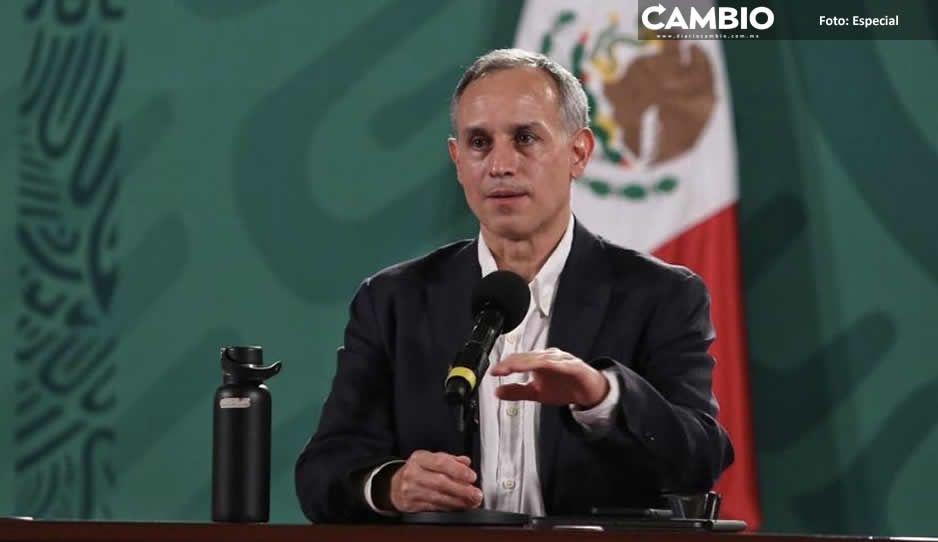 En octubre mexicanos de +18 estarán vacunados, promete Gatell, pero en Puebla va el 37 por ciento (VIDEO)