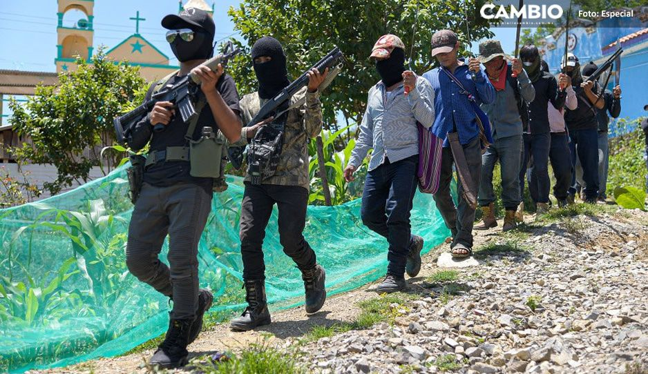 """Surge grupo de autodefensa """"El Machete""""; van vs el narco en Chiapas (FOTOS)"""