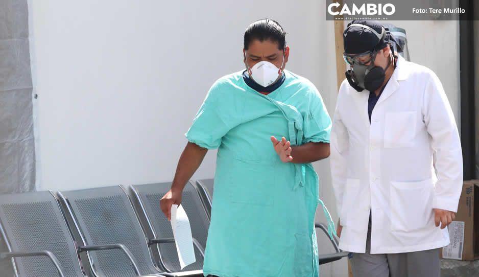 Puebla reporta la cifra semanal más baja de contagios desde agosto