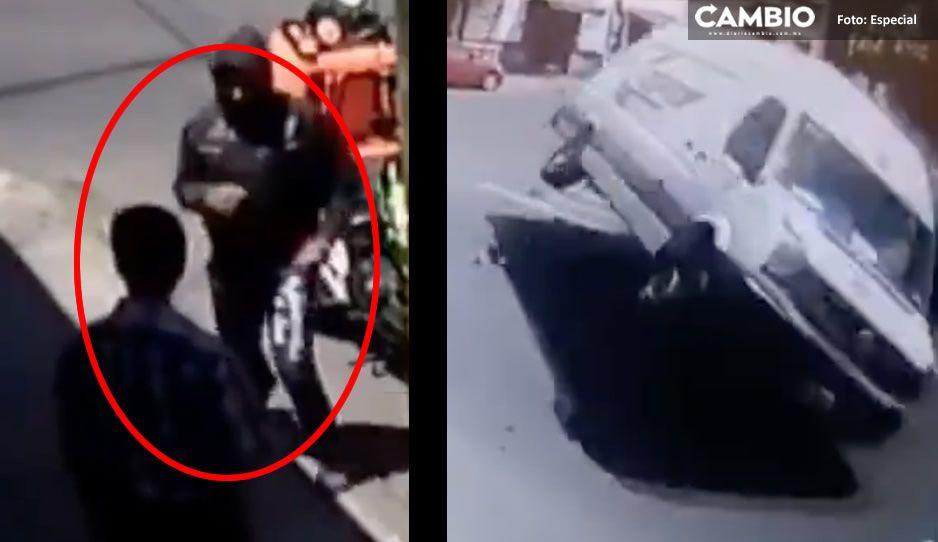 VIDEO: Crucero de la 'Ciclopista de la Muerte' también es esquina de choques y ring de peleas